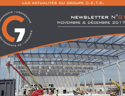 NEWSLETTER N°1 – Novembre et Décembre 2017